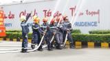 Diễn tập phòng cháy chữa cháy tại Công ty TNHH Far Eastern Apparel Việt Nam