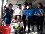 省越南青年联合会正式展开顺安市2017年清洁水项目