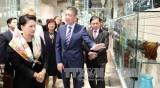 越南国会主席阮氏金银对捷克卡罗维发利洲进行工作访问