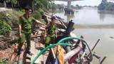 """Trắng đêm truy bắt """"cát tặc"""" trên sông Đồng Nai"""