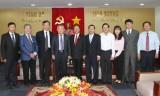 省领导会见Polytex Far Eastern(越南)有限公司领导团