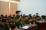 Đảng ủy Cảnh sát PC&CC tỉnh: Đối thoại với đoàn viên thanh niên