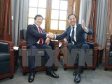 Phó Thủ tướng Trịnh Đình Dũng gặp Thủ tướng Hà Lan Mark Rutte