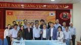 韩国大田市代表团对平阳日报进行正式访问