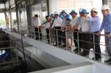 Giám sát hoạt động tại 2 Nhà máy xử lý nước thải sinh hoạt Thủ Dầu Một và Thuận An