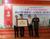 Đón bằng công nhận di tích lịch sử-văn hóa cấp tỉnh miếu Ông.