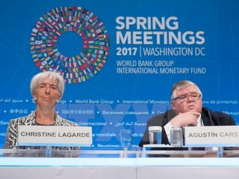 Hội nghị mùa Xuân IMF-WB cam kết chống lại chủ nghĩa bảo hộ