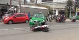 Tai nạn giao thông kép, nhiều người may mắn thoát nạn