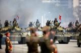 Triều Tiên tập trận bắn hỏa lực kỷ niệm ngày thành lập quân đội