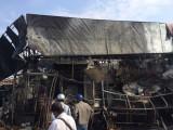 Cháy Gara sửa chữa ô tô, nhiều người kịp thời thoát thân