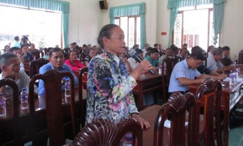 Đoàn đại biểu Quốc hội tỉnh tiếp xúc cử tri xã Tân Vĩnh Hiệp và phường Khánh Bình, TX.Tân Uyên