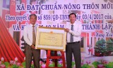 Xã Hưng Hòa, huyện Bàu Bàng: Đạt chuẩn nông thôn mới