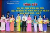 Tổng kết hội thi giáo viên dạy giỏi giải thưởng Võ Minh Đức