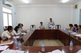 Delegation of provincial People's Council's Economic-Budget Commission works with Ben Cat