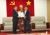 Lãnh đạo tỉnh tiếp và làm việc với Đoàn lãnh đạo tỉnh Savannakhet-Lào