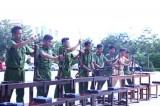 Bế giảng lớp tập huấn điều lệnh, quân sự, võ thuật 2017