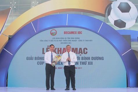 2017年Becamex IDC杯平阳新城足球赛