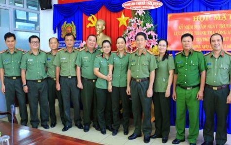 Họp mặt 50 năm truyền thống lực lượng Thanh tra Công an nhân dân