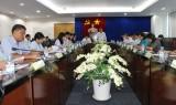 Đoàn giám sát Ban Kinh tế - Ngân sách HĐND tỉnh làm việc với  Sở Kế hoạch và Đầu tư