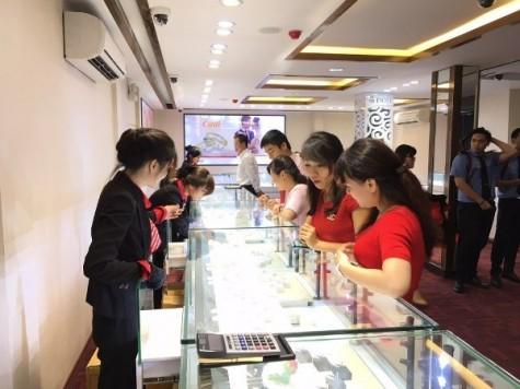 Đảo chiều, giá vàng trong nước tăng từ 50.000-100.000 đồng