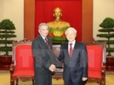 Party chief lauds visit by Cuban Party official