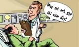 May mà gặp bác sĩ sớm