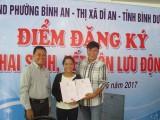 Tổ chức điểm đăng ký lưu động khai sinh, kết hôn cho người dân