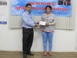 Công đoàn ngành dệt may tỉnh: Thăm và tặng quà cho công nhân có hoàn cảnh khó khăn