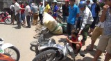3 người thương vong trong vụ tai nạn kép
