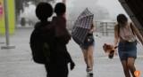 Cơn bão nhiệt đới Merbok đổ bộ vào Hong Kong mạnh tới cấp 8