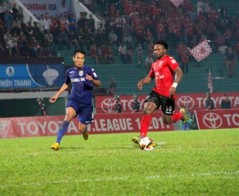 Tứ kết Cúp Quốc gia 2017, B.Bình Dương - Sài Gòn FC: Khách quyết tâm lấn chủ!