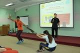 Công ty TNHH Điện tử Foster: Tập huấn huấn kỹ năng tự vệ cho nữ công nhân
