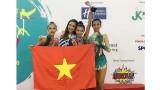 2017年东南亚青年艺术体操锦标赛:越南选手阮河眉夺金