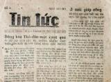 Một thời báo chí Bình Dương…