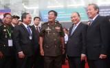 Thủ tướng Nguyễn Xuân Phúc và Thủ tướng Vương quốc Campuchia Samdech Hun Sen thăm, làm việc tại tỉnh Bình Dương