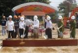 Khởi công xây dựng trụ sở Đội chữa cháy chuyên nghiệp khu vực phường Phú Mỹ