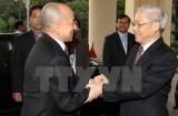 Việt Nam, Campuchia trao đổi thư mừng kỷ niệm 50 năm ngoại giao