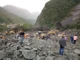 Điện thăm hỏi vụ sạt lở núi nghiêm trọng tại Tứ Xuyên, Trung Quốc