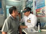 Hơn 100 người cao tuổi ở xã An Sơn được khám bệnh, phát thuốc và tặng quà