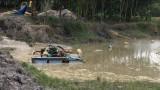 Nhức nhối tình trạng khai thác cát trái phép tại suối nước trong - Bài 1