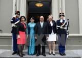 政府总理阮春福会见荷兰议会领导