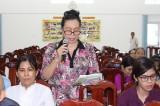 Bà Nguyễn Thị Kim Oanh, Phó Chủ tịch HĐND tỉnh: Kỳ họp thứ 4, HĐND tỉnh khóa IX sẽ xem xét, quyết định nhiều vấn đề quan trọng