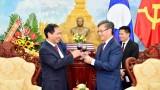 越南外交部与老挝驻越大使馆举行活动 庆祝越老友好团结年