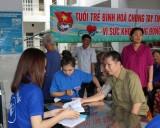 150 gia đình chính sách được khám bệnh và phát thuốc miễn phí