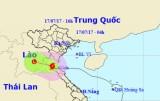 Thông tin mới nhất về cơn bão số 2 trên vùng núi Nghệ An - Hà Tĩnh