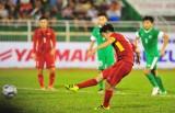 Đè bẹp Macau (Trung Quốc) 8-1, U-22 Việt Nam chiếm ngôi đầu bảng