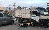 Tai nạn liên hoàn giữa 2 ôtô và 2 xe máy