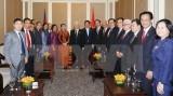 越共中央总书记阮富仲离开首都金边 启程造访西哈努克省