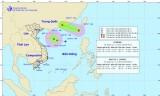 Bão số 3 và áp thấp nhiệt đới cùng tấn công Biển Đông