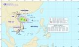 Áp thấp nhiệt đới đã mạnh lên thành cơn bão số 4 trên Biển Đông